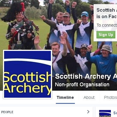 Scottish Archery Facebook screen grab