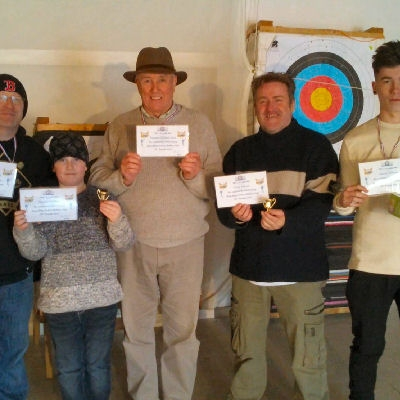 these archers have earned a certificate