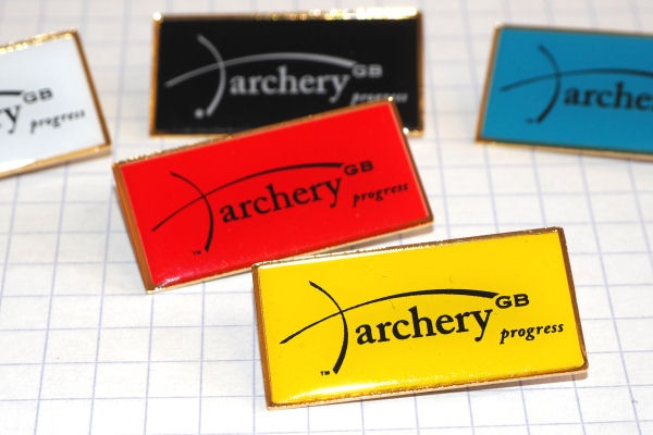 Archery GB Progress Award badges