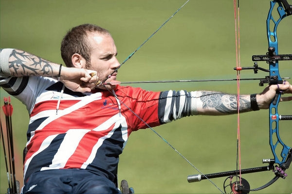 Nathan McQueen - Scottish GB Para Archery