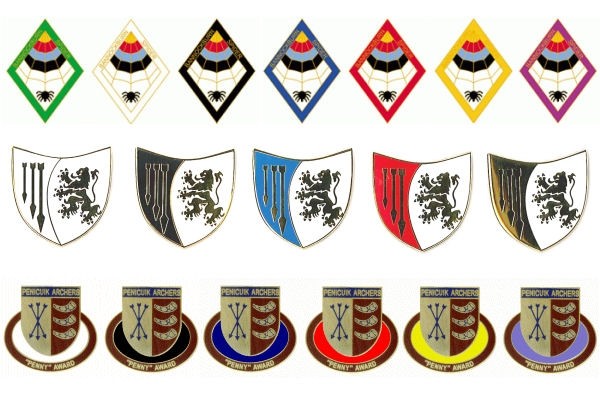 Scottish club achievement badges
