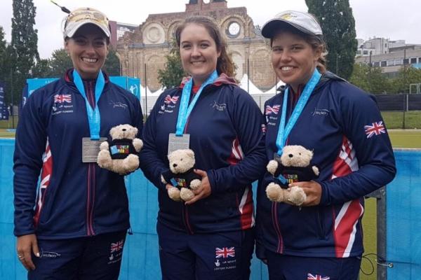 GB Compound Ladies Team Silver, Berlin World Cup 2017