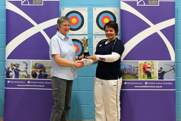 Scottish Champion Lady Recurce Fiona Hirst
