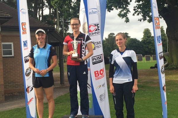 AGBNS Stage 5 Ladies Recurve Podium