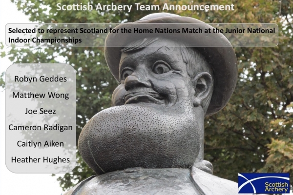 SCOTLAND JUNIOR TEAM ANNOUNCEMENT