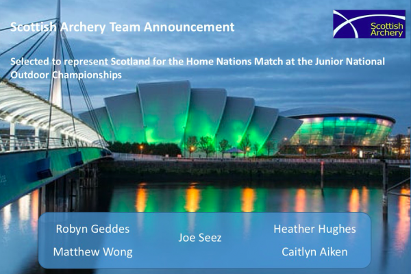 Junior Team Announcement