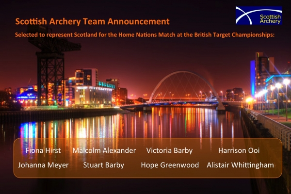 Scottish Team for home nations match