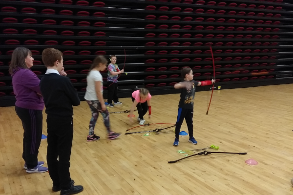 Soft Archery in Primary Schools
